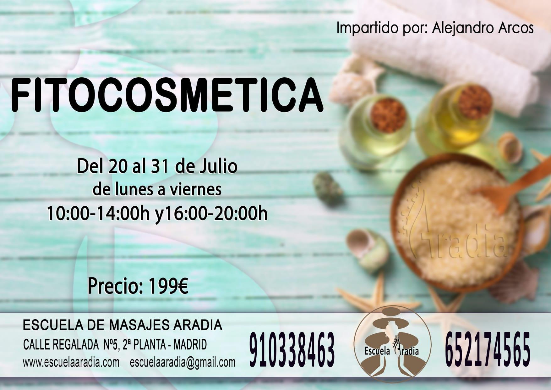 Formación: fitocosmetica