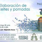 información curso aceites y pomadas