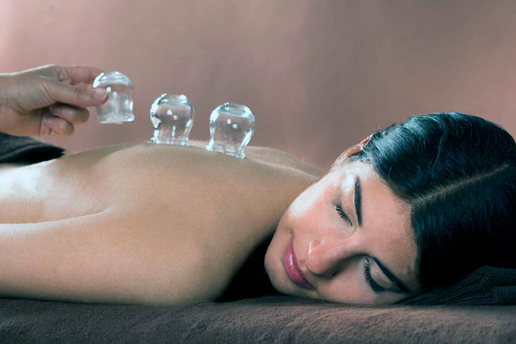 tratamiento masaje con ventosas