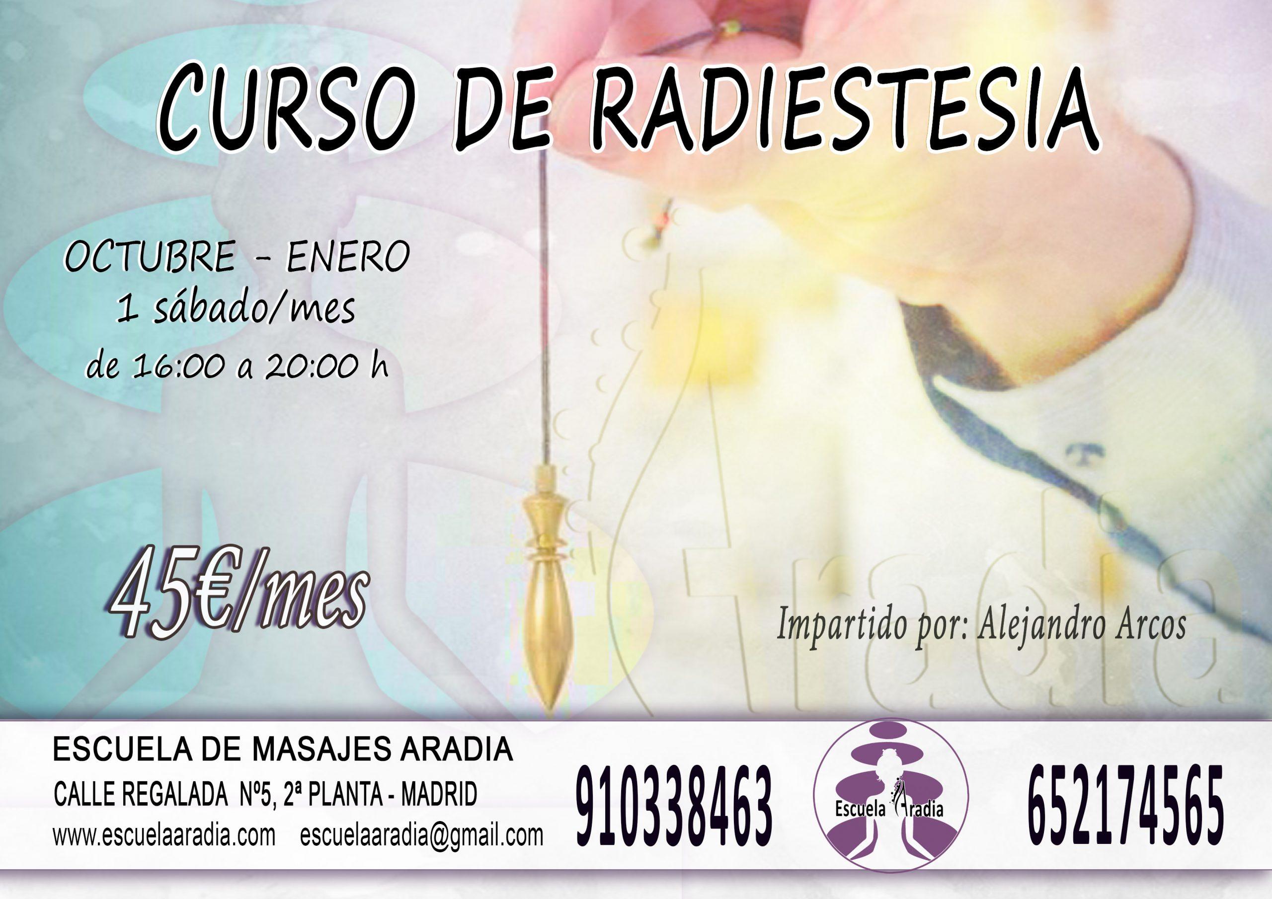 formación radiestesia