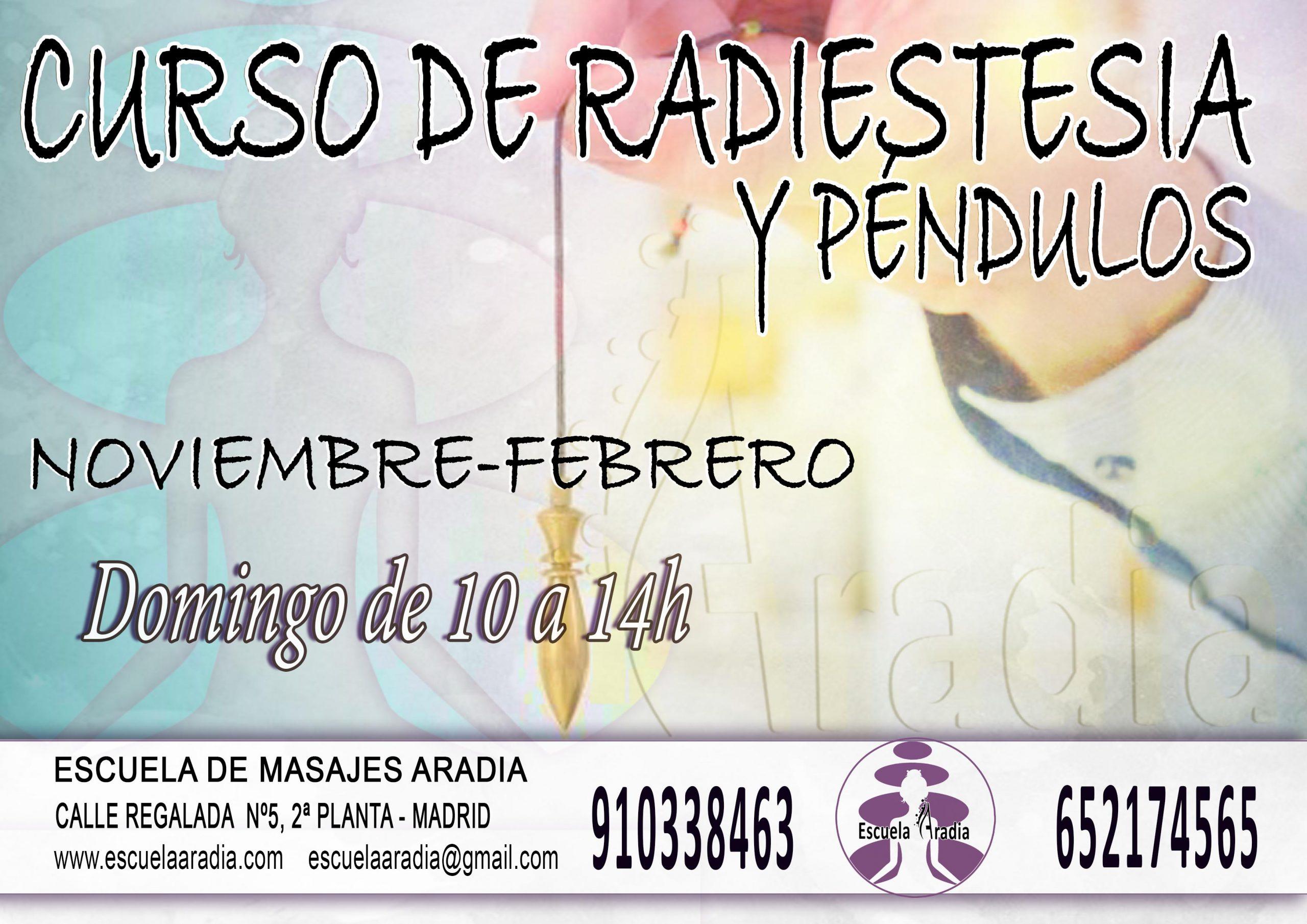 Curso de radiestesia noviembre-febrero